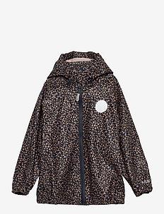 Rainwear Charlie - sets & suits - greyblue flowers