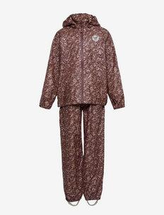 Rainwear Charlie - sets & suits - fig flowers