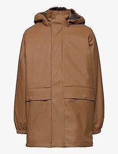 Thermo Rain Coat Ajo - jackets - caramel