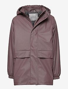 Thermo Rain Coat Ajo - jackets - eggplant