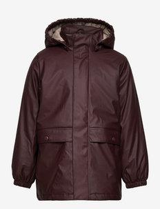 Thermo Rain Coat Ajo - jassen - fudge