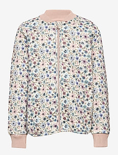 Thermo Jacket Loui - EGGSHELL WATERCOLOR FLOWERS