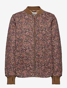 Thermo Jacket Loui - termojacka - ink flowers