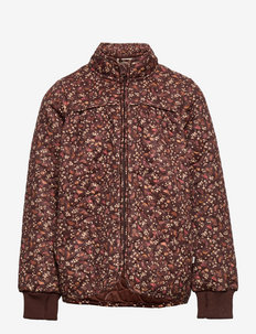 Thermo Jacket Thilde - coveralls - maroon birds