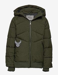 Down Jacket Birk - puffer & padded - army melange