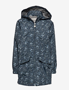 Windbreaker Elinor - windbreaker - greyblue flower
