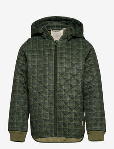 Thermo Jacket Eske - coveralls - olive check