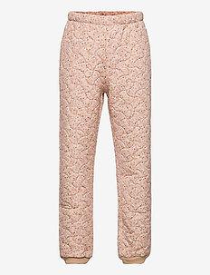 Thermo Pants Alex LTD - coveralls - soft beige flowers