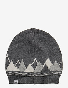 Beanie Finn - chapeaux - dark melange grey