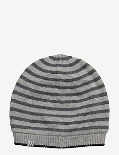 Beanie Johnny - hats - dark melange grey