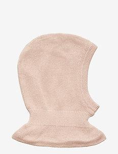 Knitted Balaclava - balaclava - rose powder