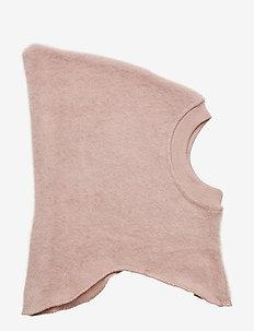 Felted Elephant Hat Wool - balaclava - fawn