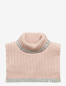 Knitted Neck Warmer - ROSE POWDER