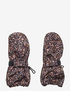 Mittens Tech - zimowe ubranie - dot flowers