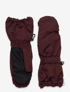 Mittens Tech - czapki i rękawiczki - maroon