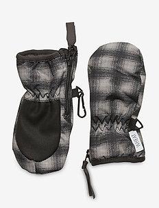 Mittens Zipper Tech - vintertøj - black