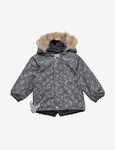 Jacket Elton - puffer & padded - iron