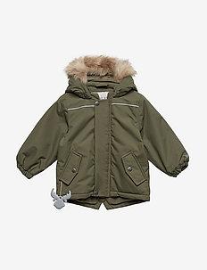 Jacket Elton - puffer & padded - army leaf