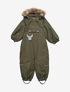 Snowsuit Nickie - snowsuit - army leaf