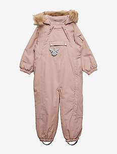 Snowsuit Nickie - snowsuit - rose powder