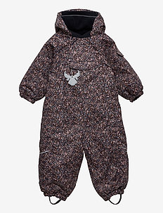 Snowsuit Adi Tech - schneeanzug - dot flowers