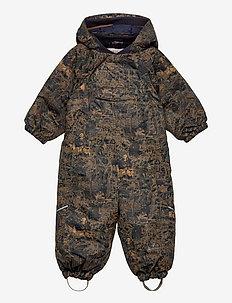 Snowsuit Adi Tech - snowsuit - wood