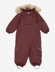 Snowsuit Nickie Tech - snowsuit - maroon