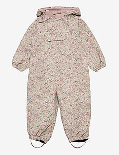 Outdoor suit Olly Tech - softshells - stone flowers