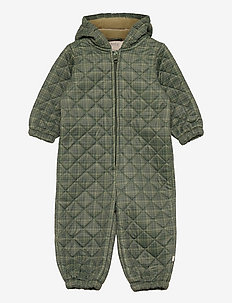 Thermosuit Harley - thermo coveralls - olive check