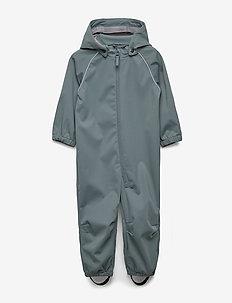 Softshell suit - softshells - petroleum