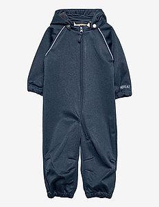 Softshell Suit - softshells - blue melange
