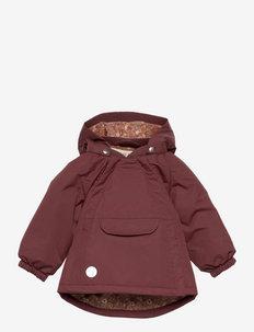 Jacket Sascha Tech - shell jassen - maroon