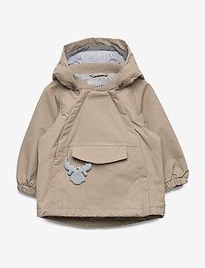 Jacket Casey Tech - shell jacket - cashew