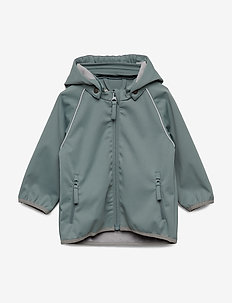 Softshell Jacket Carlo - softshell jacket - petroleum