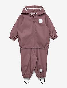 Rainwear Charlie - sett & regndresser - plum