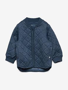 Thermo Jacket Loui - thermojacke - indigo melange