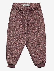 Thermo Pants Alex - termojakke - dusty rouge flowers