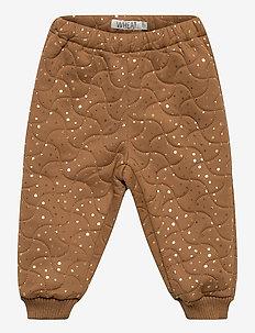 Thermo Pants Alex - nederdelar - caramel dot