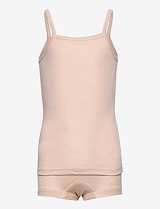 Girl Underwear - sets - powder