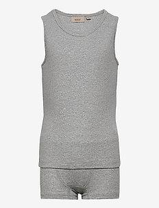 Boy Underwear - sets - melange grey