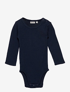 Body Plain Wool LS - langermet - navy