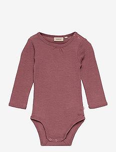 Body Gatherings Wool LS - lange mouwen - rose brown
