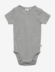 Body Plain SS - lyhythihaiset - melange grey
