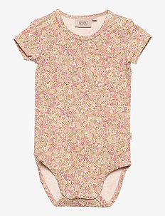 Jersey Body SS - short-sleeved - bees and flowers