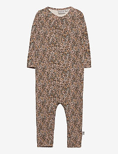 Jumpsuit Gatherings - long-sleeved - fawn flowers