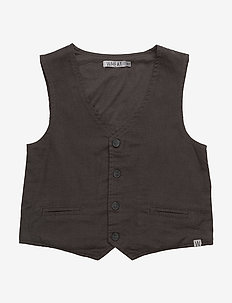 Boy Vest - vests - steel