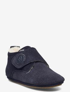 Angel Wool Indoor Shoe - slippers - navy