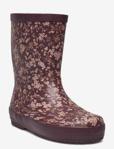 Rubber Boot Alpha - uforede gummistøvler - fig flowers