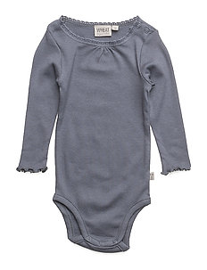 Body Rib Lace LS - GRISAILLE