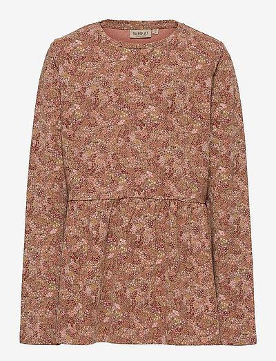 T-shirt Marcia - langärmelig - rose cheeks flowers